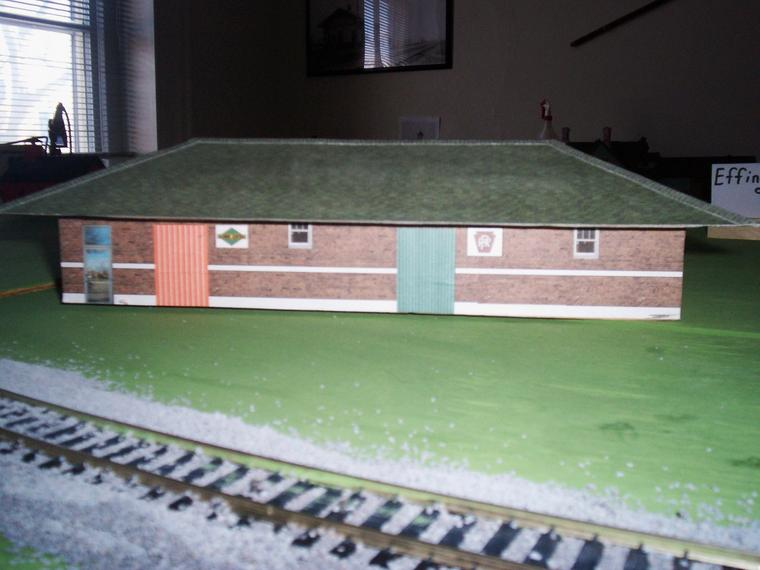 Train - Effingham Depot Building