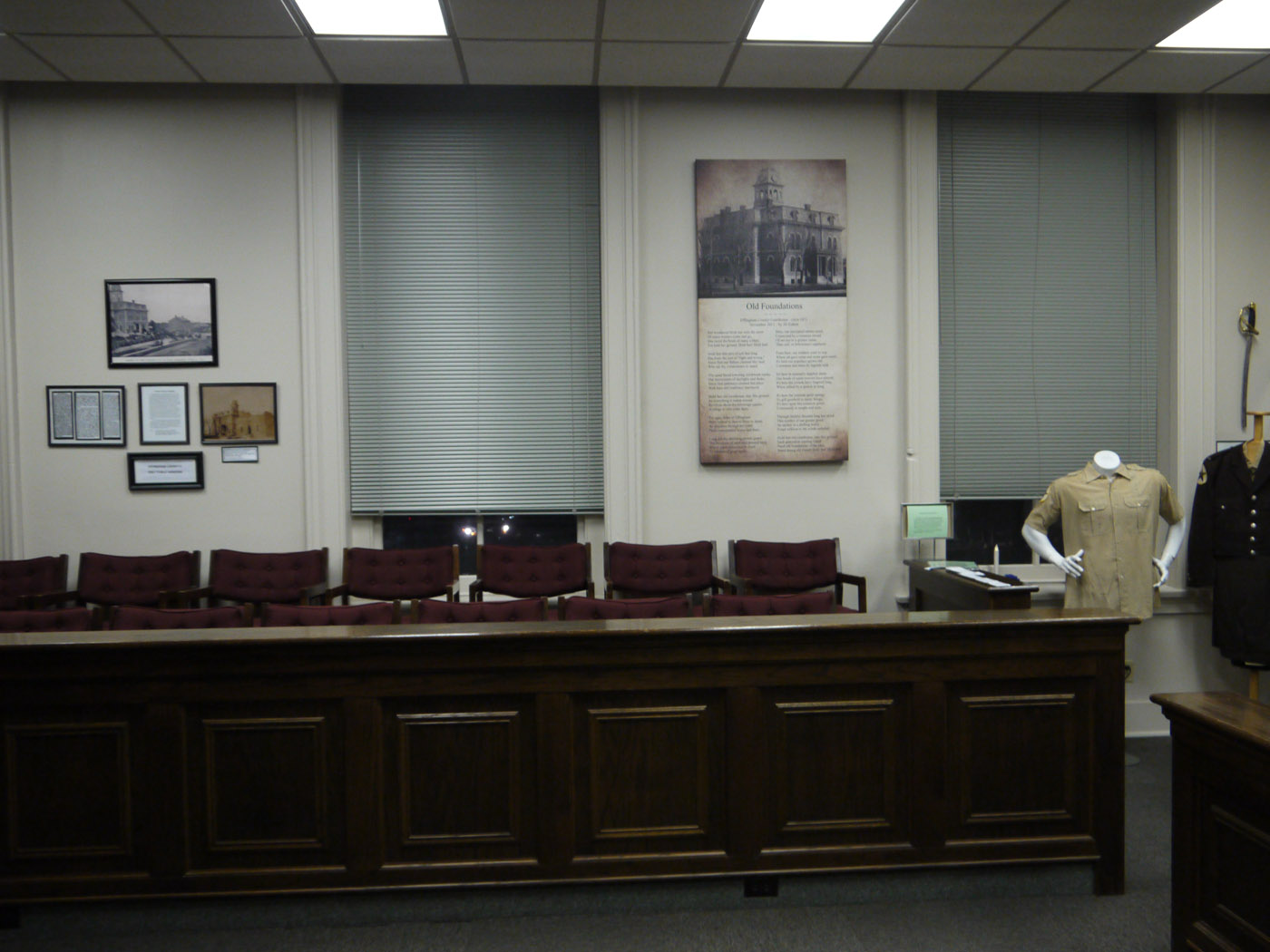 Former jury box