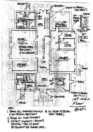1st Floor Blueprint