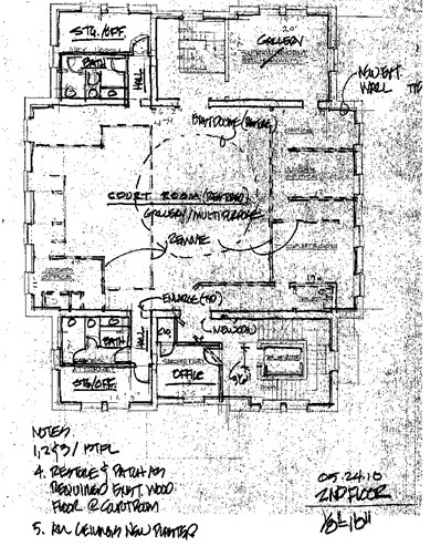 2nd Floor Blueprint