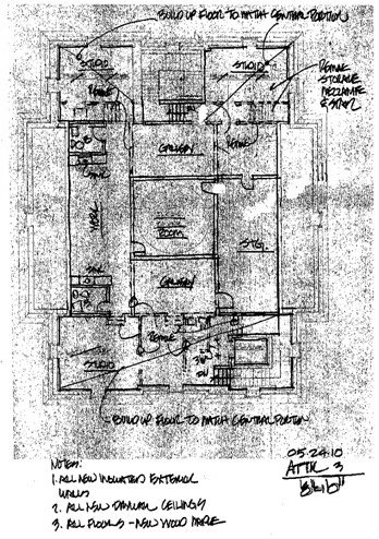 Attic Blueprint