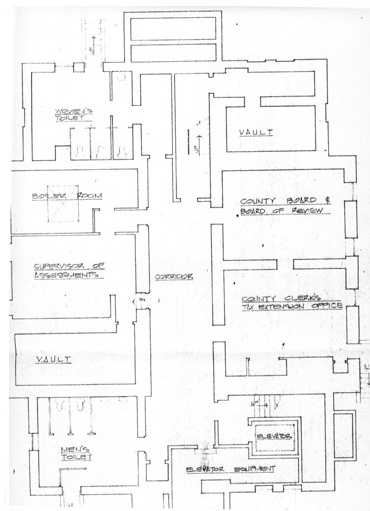 Courthouse blueprints