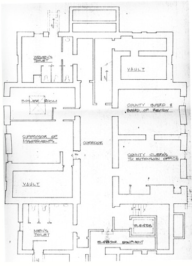 Courthouse blueprints 2