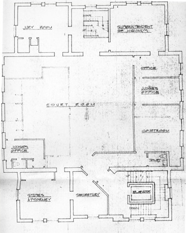 Court Room Blueprint