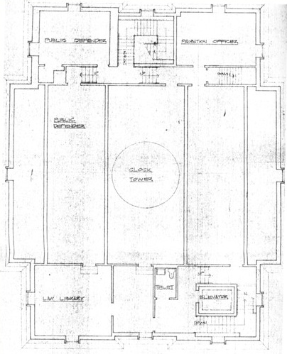Main hall blueprint