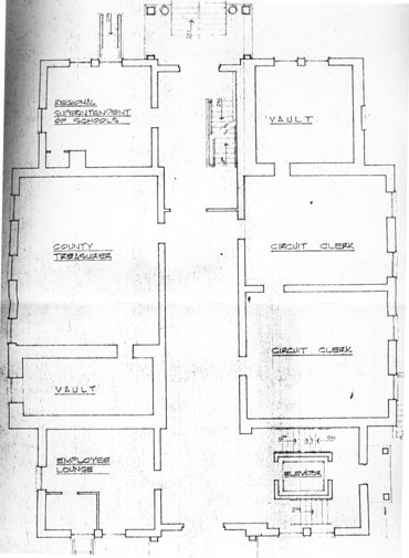 Courthouse blueprints 3
