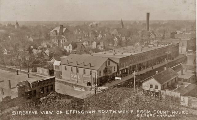 Bird's Eye View Effingham