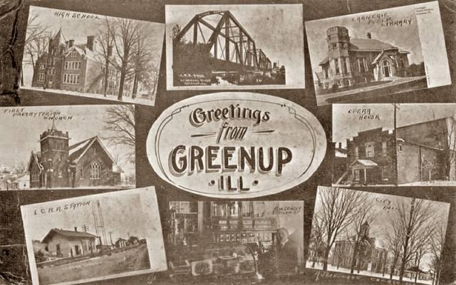 Greenup Postcard