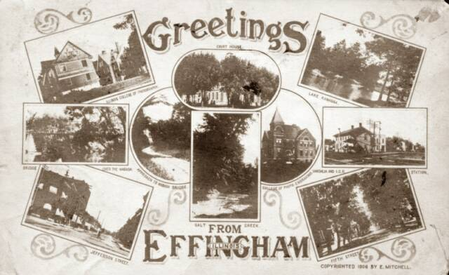 Effingham Post Cards